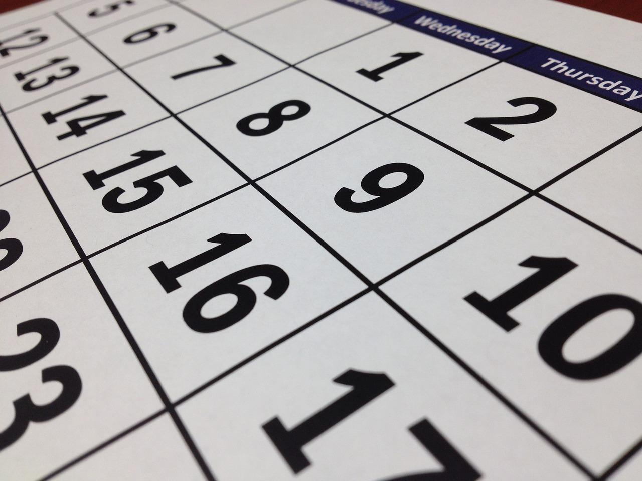 Calendario delle Prove d'esame corsi ad accesso programmato Università